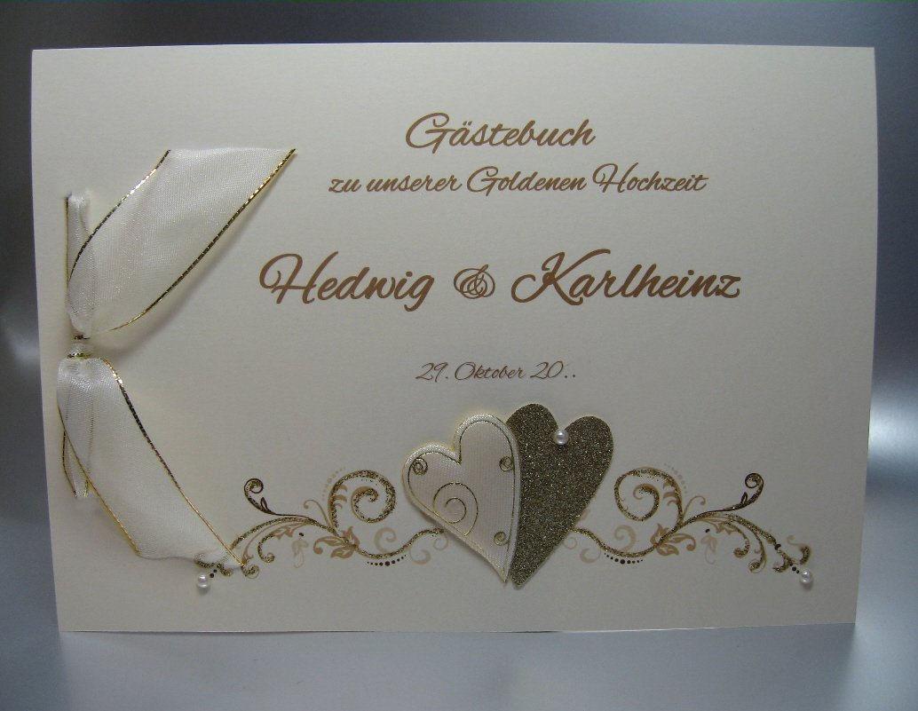 Gästebuch Zur Goldenen Hochzeit 12805