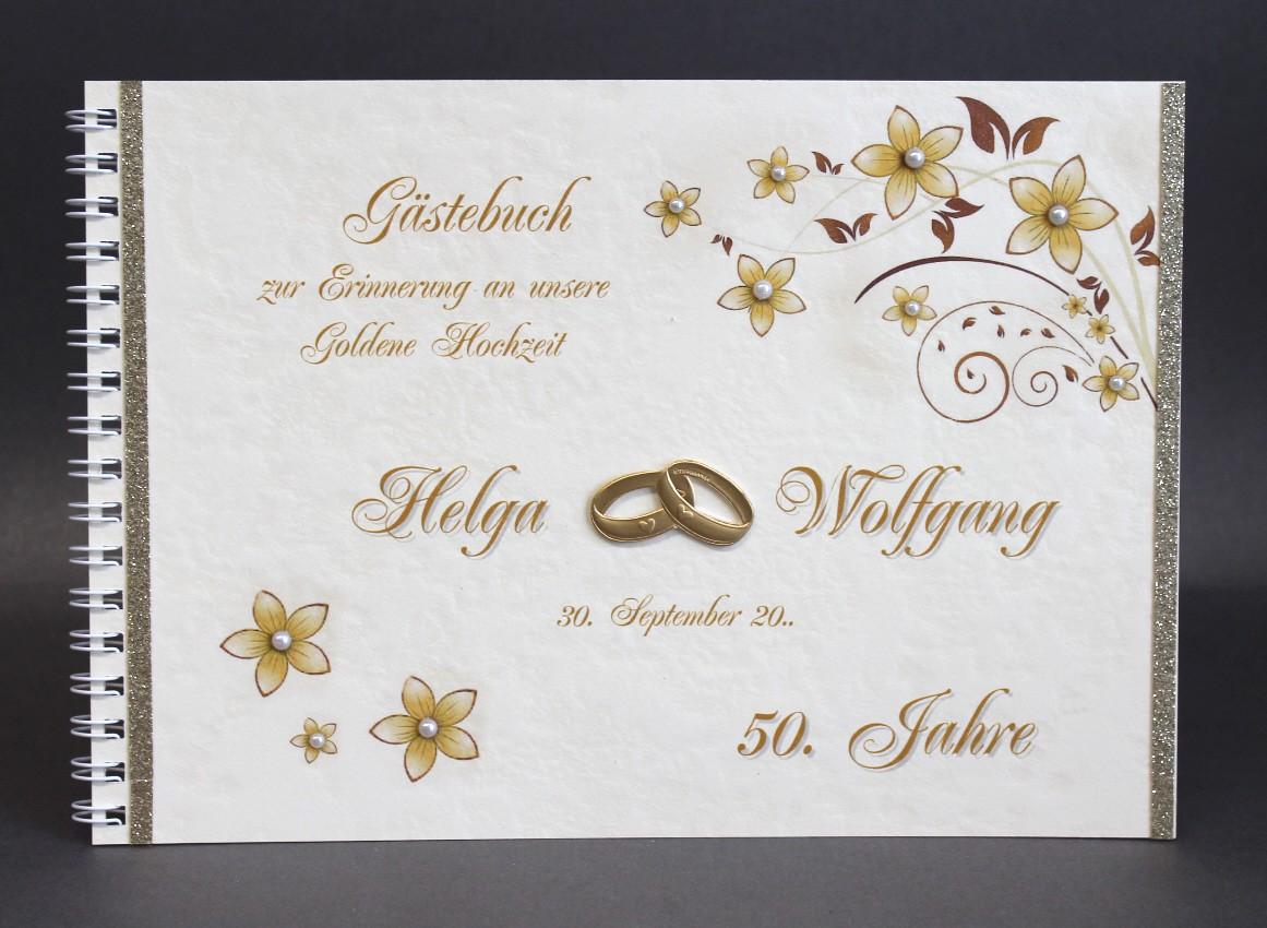 Gästebuch Zur Goldenen Hochzeit 12811