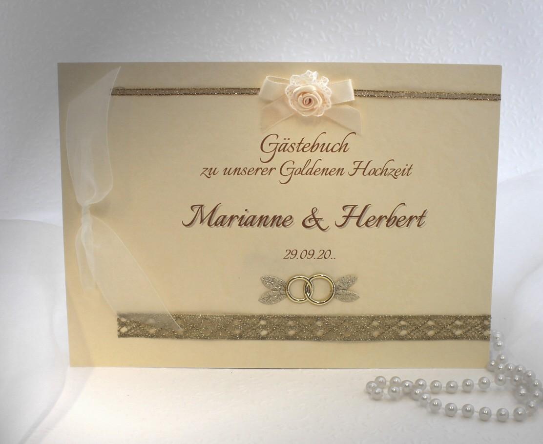 Gästebuch Zur Goldenen Hochzeit 12803